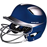 Easton Natural Two-Tone Senior Batting Helmet with Mask(Hat Size - 6 7/8-7 5/8)