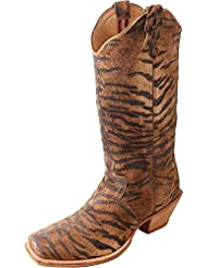 Twisted X Womens Steppin Out Cowgirl Pattern Boot