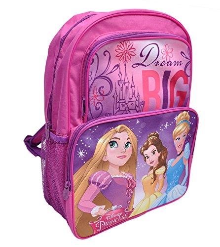Disney Princess Backpack Large School Bag 16 Rapunzel new Disney Princess Large Backpack