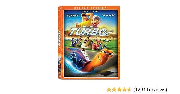 Amazon.com: Turbo (Blu-ray 3D Combo Pack): Ryan Reynolds, Paul Giamatti, Maya Rudolph, Samuel L. Jackson, Michael Peña, David Soren, Lisa Stewart, ...