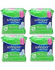 Whisper Ultra Clean 3X More Absorbency Normal Flow Wings 24cm 40pk