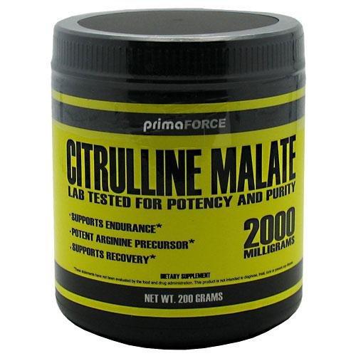 PrimaForce Malate de Citrulline 200 grammes