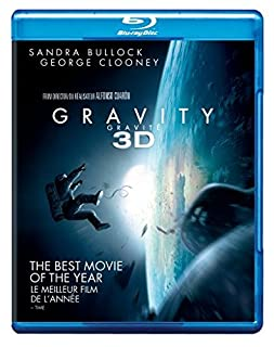 Gravity [Blu-ray 3D + Blu-ray] (Bilingual) (B00GUSXJ2M) | Amazon Products