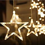 Waterproof String Lights, REDGO 2.5M/ 8.2FT 138LED Starry String Lights Battery Powered for Outdoor, Indoor, Wedding, Yard, Garden, Restaurant, Cafe, Anniversary, Birthday Christmas Party, Warm White