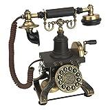Antique Phone - The Eiffel Tower 1892 Rotary Telephone - Corded Retro Phone - Vintage Decorative Telephones