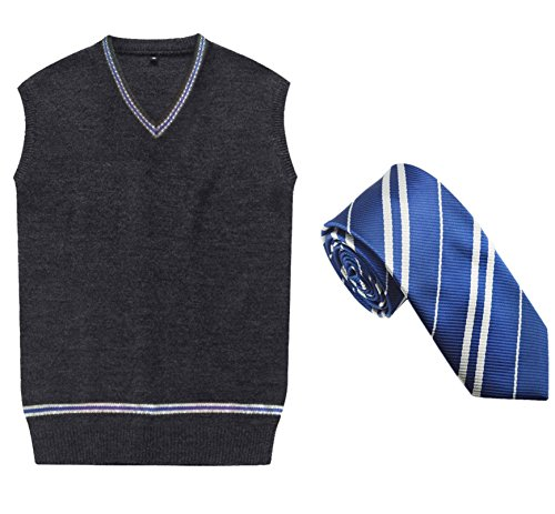 Cosplay Costumes unisex Sweater Fall and Winter Vest Waistcoat (Harry Potter School Uniform)