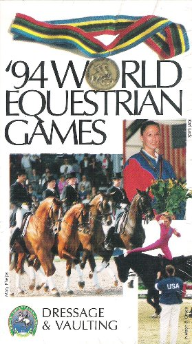 - 1994 World Equestrian Games-volume1: Dressage & Vaulting