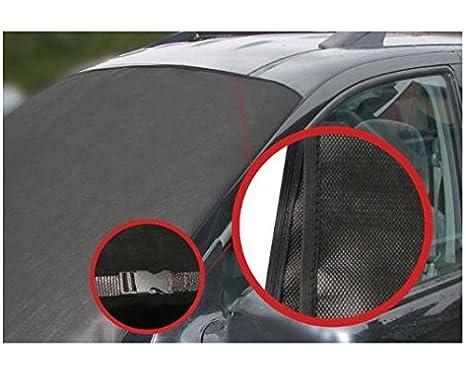 LP A172 Scheibenabdeckung Frostabdeckung Frontscheibe Abdeckung Winterschutz 157cm x 88cm fü r Windschutzscheibe MIT KLICKVERSCHLUSS-NEUHEIT L&P Car Design GmbH
