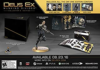 Deus Ex: Mankind Divided - Collector's Edition - PlayStation 4 (B014HB2GEK) | Amazon price tracker / tracking, Amazon price history charts, Amazon price watches, Amazon price drop alerts