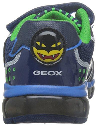 Geox J Android Boy C, Zapatillas para Niños Blau (NAVY/LT BLUEC0693)
