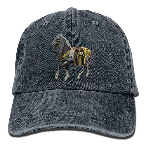 JHDHVRFRr Hat Black Hores Denim Skull Cap Cowboy Cowgirl Sport Hats for Men Women