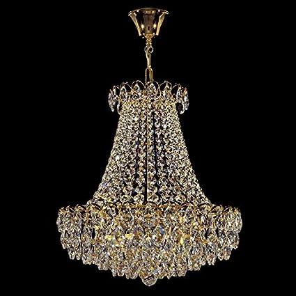 La lámpara de la Empire 24 quilates de oro Kolarz hecho a ...