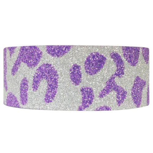 Wrapables Shimmer Masking Purple Leopard