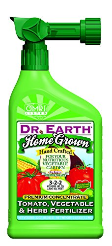 Dr. Earth Home Grown Tomato, Vegetable & Herb Liquid Fertilizer 32 oz RTS