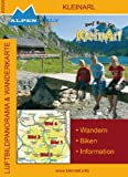 Alpenwelt Karte, Kleinarl (Luftbildpanorama- & topografische Wanderkarte) M 1:35.000