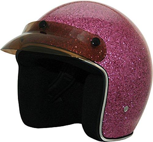Glitter Motorcycle Helmet - 4