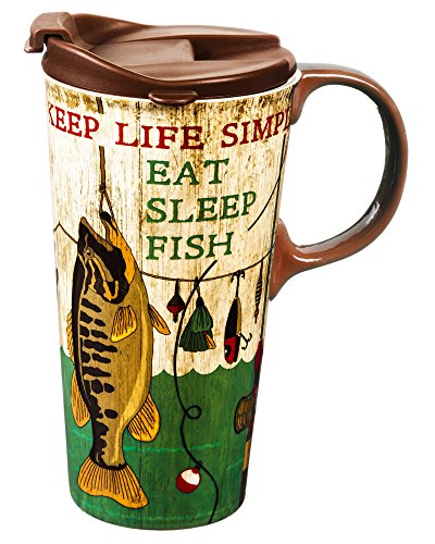 Cypress Home Ceramic Travel Coffee product image