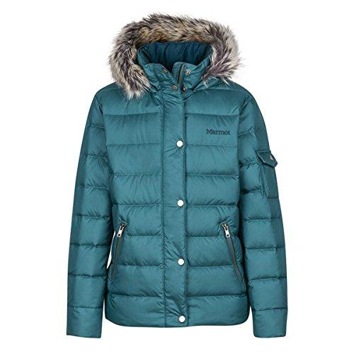 Marmot Kids Girl's Hailey Jacket (Little Kids/Big Kids) Deep Teal Medium by Marmot