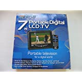"Digital Prism ATSC-710 7"" Portable Handheld LCD TV with Built in ATSC/NTSC Tuner (Black)"