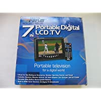 Digital Prism ATSC-710 7 Portable Handheld LCD TV with Built in ATSC/NTSC Tuner (Black)