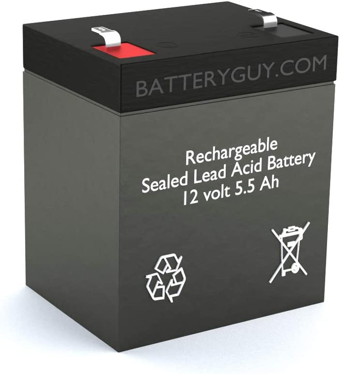 Rechargeable B/&B HR 5.5-12 Replacement Battery