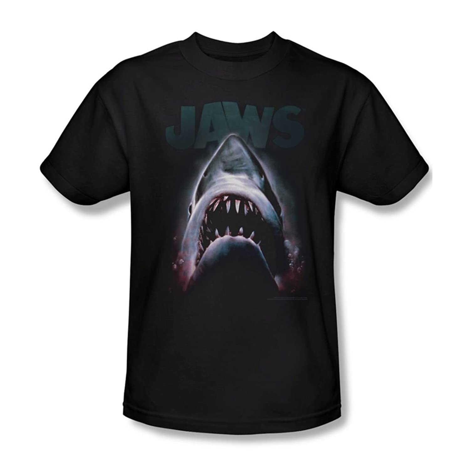 Jaws - Mens Terror In The Deep T-Shirt In Black