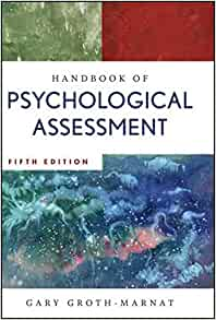 Handbook Psychological Assessment Gary Groth Marnat product image