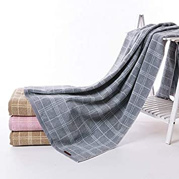 Toallas de baño de algodón peinado linea de fantasía artesanal elegante y elegante 15075 cm: Amazon.es: Hogar