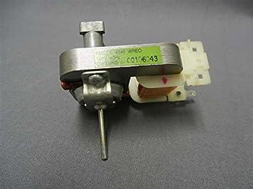 recertificación Sharp rmotea346wre0 microondas motor de ventilador ...