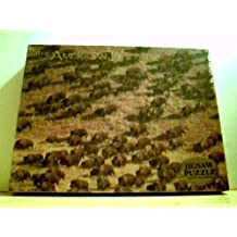 """American Buffalo Puzzle - 500 Pieces, 15.5 x 19.5"""" (25144) by Impact for Dan Grigg Images"""