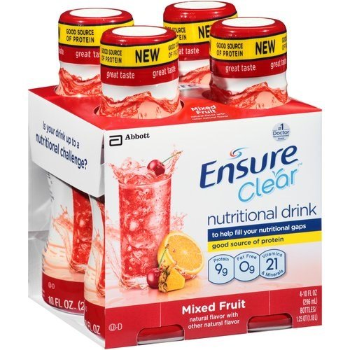 Ensure Nutritional Drink, Clear, Mixed Fruit 40 fz (Pack of 3)