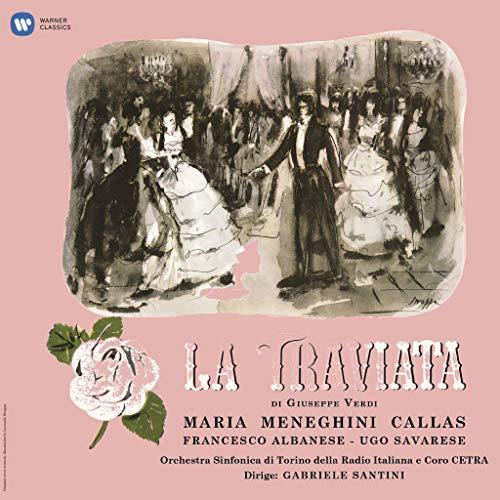 La Traviata (1953 Studio Recording) [Disco de Vinil]