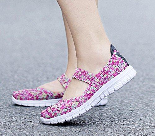 GFONE - Zapatos de tacón  mujer ColorPink