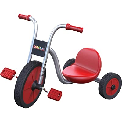 Kaplan Early Learning Company Smooth Rider Lowrider Trike - Red/Silver: Toys & Games