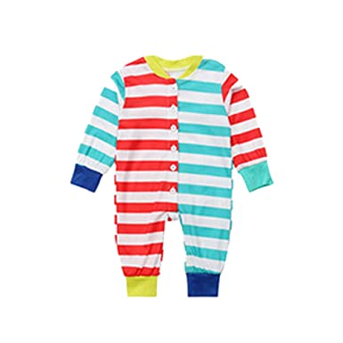 95dc7fce02 Mxssi Matching Family Clothing Sets New Year Christmas Pajamas Family  Matching Outfits Mother Daughter Father Son Mon Family Look Baby 12M:  Amazon.co.uk: ...