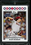 Dan Haren AS ( All Star ) Arizona Diamondbacks 2008 Topps Updates & Highlights Baseball Card in Protective Screwdown Display Case