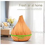 ZYQ 400Ml Ultrasonic Aroma Diffuser With Colorful LED Lights, Aromatherapy Essential Oil Diffuser, Cool Mist Humidifiers And Waterless Automatically Shut-Off, For Home, Yoga, Office, Spa, Bedroom, Ba