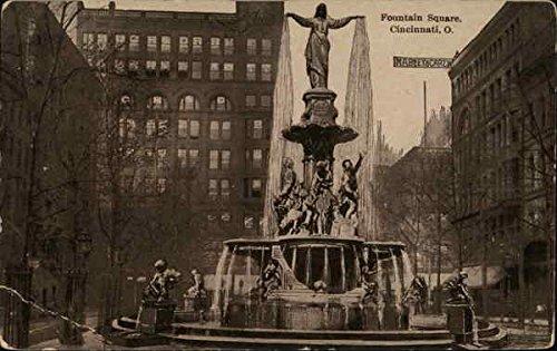 Fountain Square Cincinnati, Ohio Original Vintage - Fountain Square Cincinnati Ohio