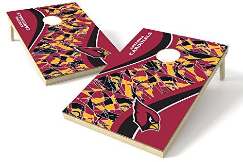 PROLINE 2'x3' NFL Arizona Cardinals Cornhole Set - Millennial S Bend Design ()