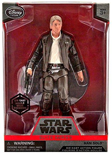 Star Wars Han Solo Elite Series Die Cast Action Figure - 6 1/2 Inch - Star Wars: The Force Awakens