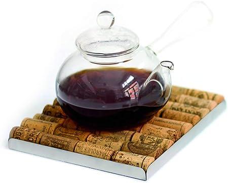 Balvi Colecciona Tus Mejores Momentos con el Salvamanteles Bakus Único y Personalizado con los Tapones de Corcho de Tus Botellas de Vino preferidas.