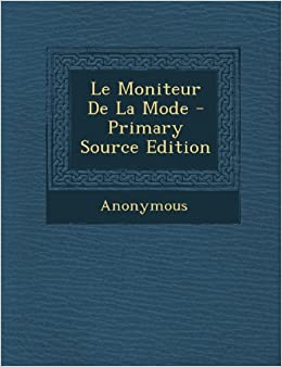 Book Le Moniteur de La Mode