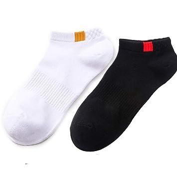 zhaoaiqin 10 Pares, algodón, Calcetines de Barco de los Hombres, Calcetines, sección