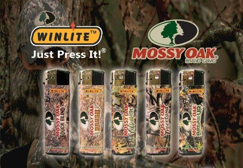 Mossy Oak Lighter Refillable (5 Count) Break up Treestand Obsession Brush Duck Blind