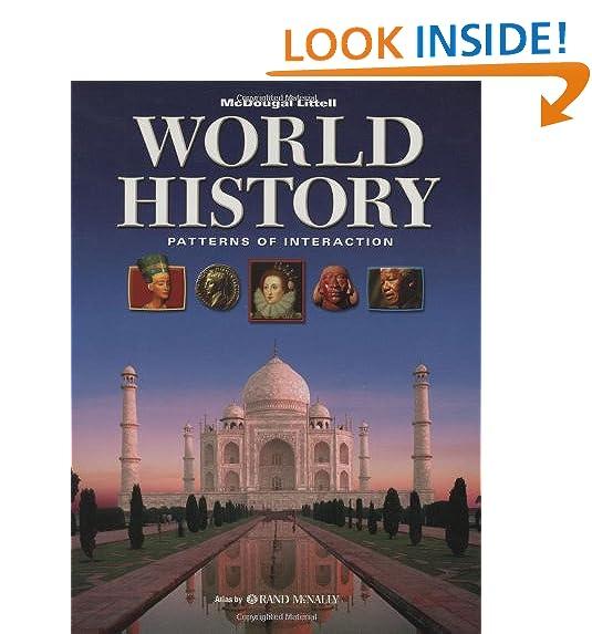 History Textbook Amazon Stunning World History Textbook Patterns Of Interaction