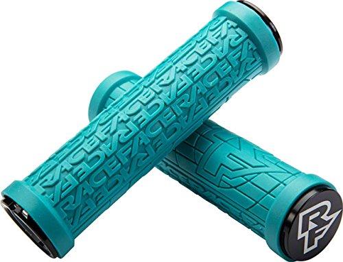 RaceFace Grippler Lock-On Grips Turquoise, 33mm