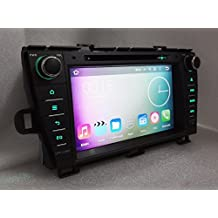 8 inch 4G Octa Core 64-BIT 2GB RAM 8 inch Android 6.0 Car DVD Radio Player For Toyota Prius 2009 2010 2011 2012 2013 GPS Stereo BT System 7 button lights color for choosing (with can bus)
