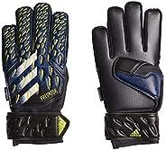adidas,Unisex Glove MTC Fingersave Gloves,Black/Team Royal Blue/Solar Yellow/White,5.5