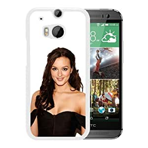 Beautiful Leighton Meester (2) Durable High Quality HTC ONE M8 Phone Case