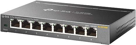 TL-SG108E TP-Link 8-Port Gigabit Ethernet Easy Smart Switch